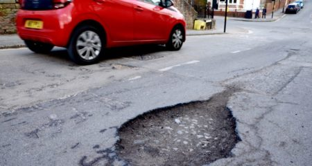 Pothole Breakdowns are on the Up