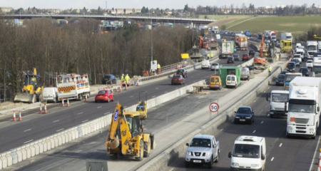 Speed Limits Increased On Motorway Roadworks in England