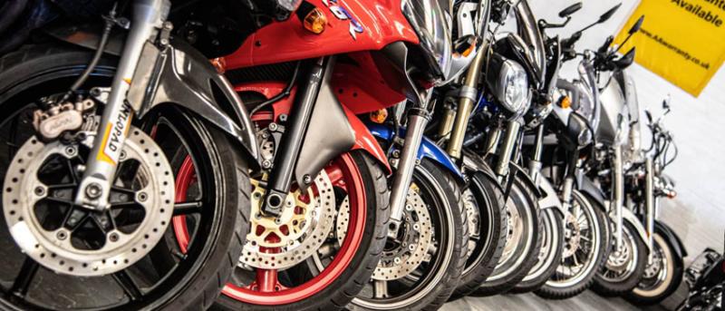 UK Motorcycle Sales Increase 31% in August