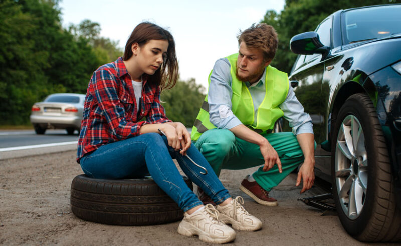 Drivers Check Car Tyres Before Longer Trips