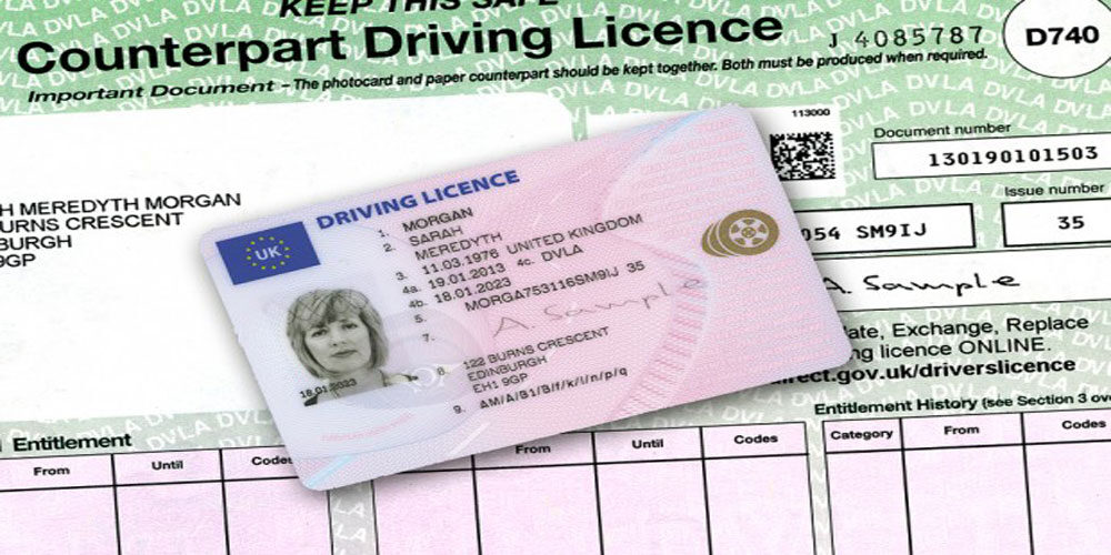Five Month Wait for Driving Licence Renewals